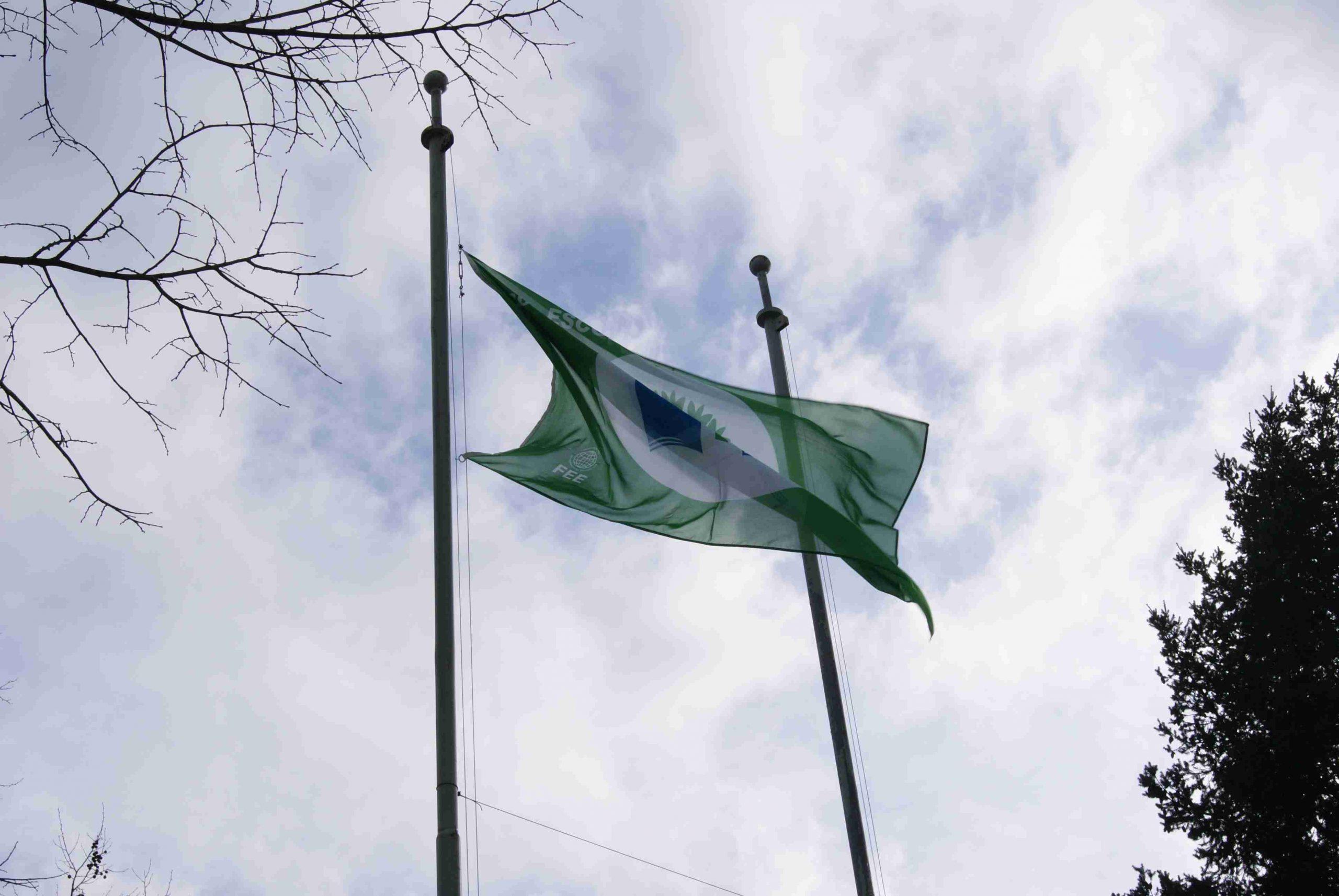 Eco-Escolas SPS - EESPS - São Pedro do Sul - bandeira verde